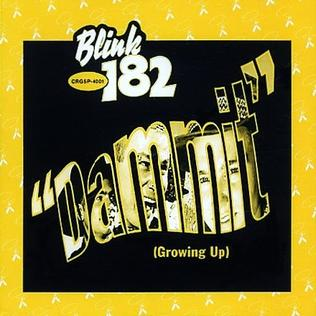 Dammit 1997 single by Blink-182