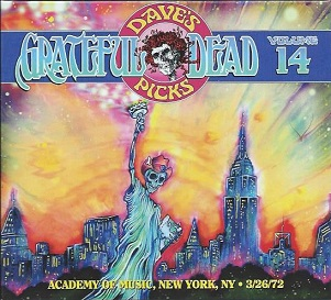 <i>Daves Picks Volume 14</i> 2015 live album by Grateful Dead