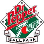 605674dda0b Former logo of the Dr Pepper Seven Up Ballpark