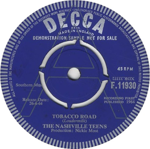 Tobacco Road (song)
