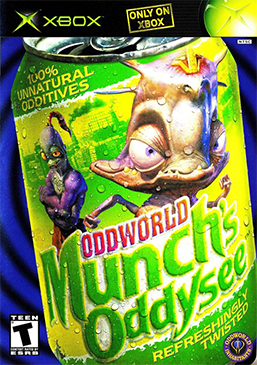 Picture of a game: Oddworld: Munch's Oddysee
