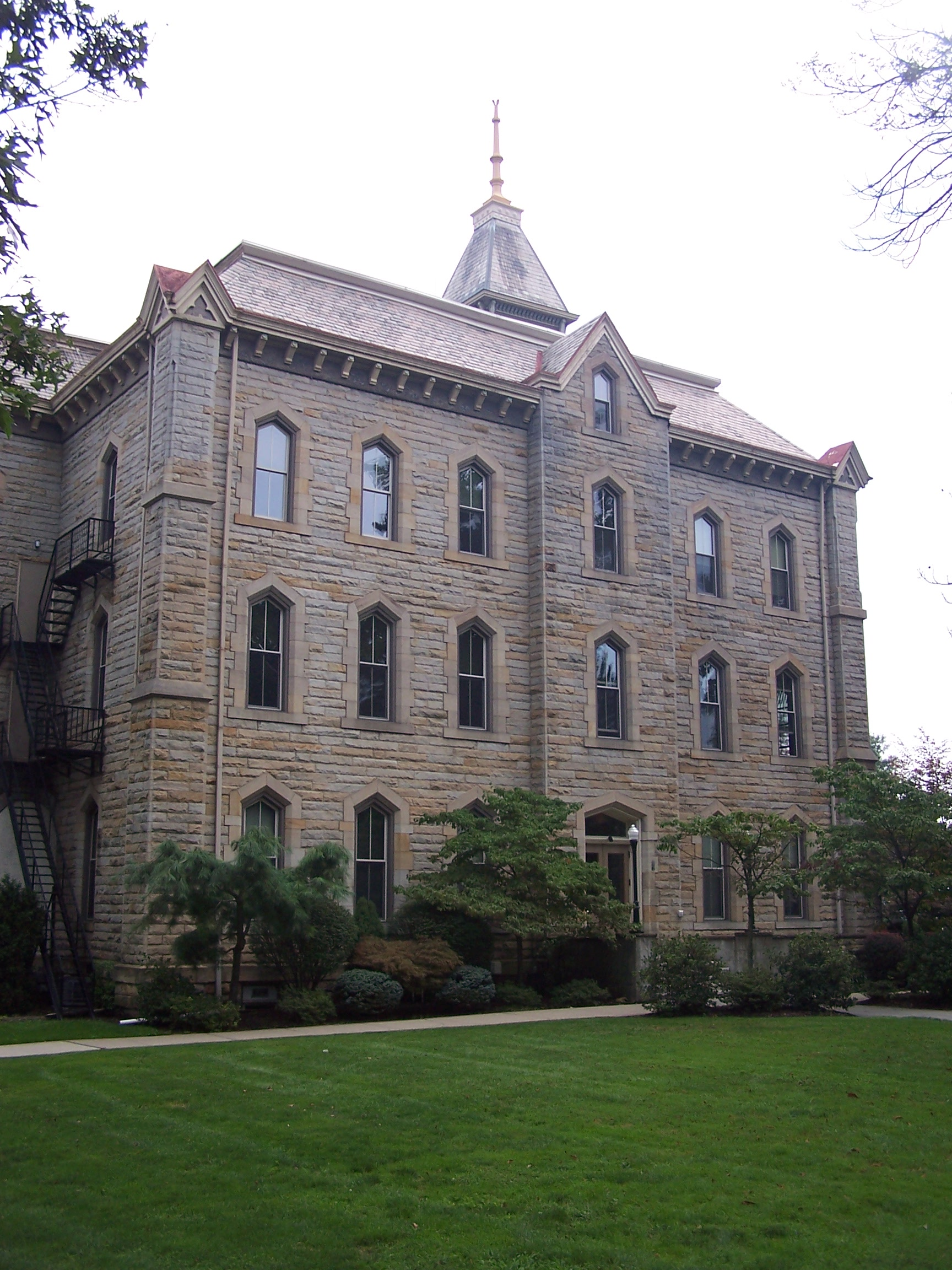 Geneva College Old Main