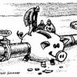 A cartoon from Ukrayinska Pravda