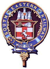 The South Eastern Railway's crest