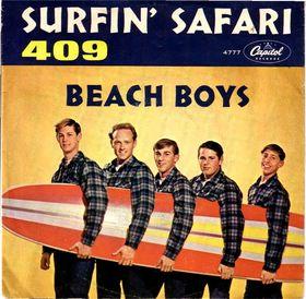 Surfin Safari (song) single