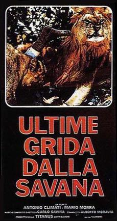 Ultime grida dalla savana streaming film documentario megavideo