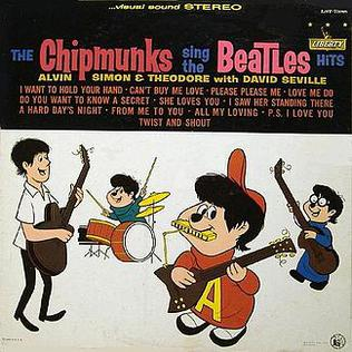Image result for david seville and chipmunks covers