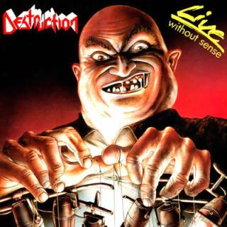 <i>Live Without Sense</i> 1989 live album by Destruction