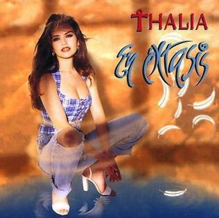 <i>En éxtasis</i> 1995 studio album by Thalía