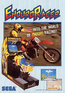 <i>Enduro Racer</i> 1986 video game