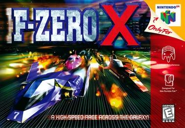 <i>F-Zero X</i> F-zero x video game
