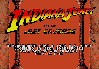 <i>Indiana Jones and the Last Crusade: The Action Game</i> 1989 video game