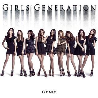 Genie (song) 2009 single by Girls Generation