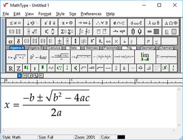 mathtype for windows 7