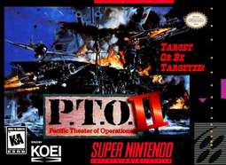 <i>P.T.O. II</i> 1995 video game