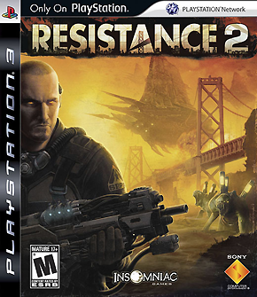 Resistance 2 – Cover Art