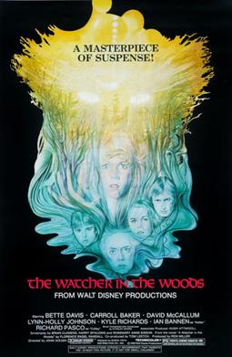 The Watcher in the Woods, film poster