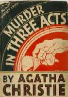 <i>Three Act Tragedy</i> 1934 Poirot novel by Agatha Christie