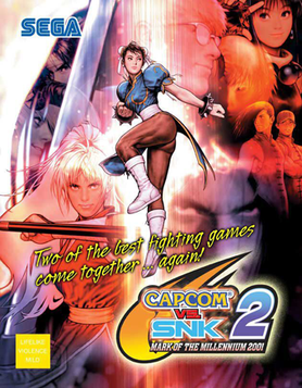 Picture of a game: Capcom Vs. Snk 2