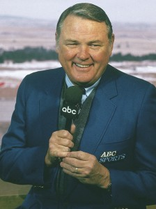 Keith Jackson American sports announcer