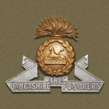 Lancashire Fusiliers line infantry regiment of the British Army