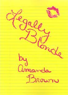 Legally Blonde Amanda Brown Pdf