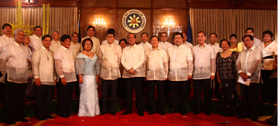 Presidents Cabinet Members