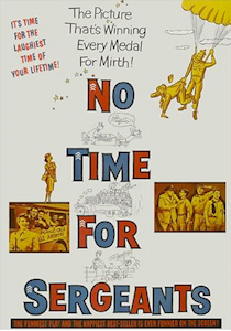 No time for seargents - movie poster.png
