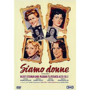<i>We, the Women</i> 1953 Italian film directed by Alfredo Guarini et al