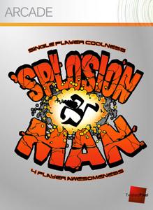 <i>Splosion Man</i> 2.5D action platform video game
