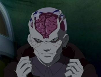 Young Justice The Brain With This Ring ...