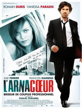Movie release poster for L'arnacoeur (Heartbreaker), courtesy Universal Pictures International