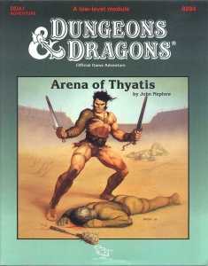 Cover of DDA1 Arena of Thyatis