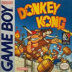 <i>Donkey Kong</i> (Game Boy) 1994 platform game for the Game Boy