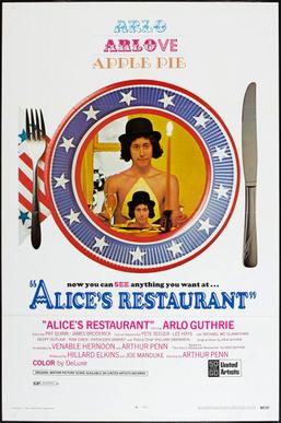 [fonte: https://en.wikipedia.org/wiki/Alice%27s_Restaurant_(film)https://en.wikipedia.org/wiki/Alice%27s_Restaurant_(film)]