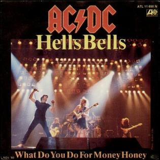 Hells Bells (song) 1980 single by AC/DC