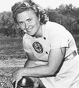 Pepper Paire All-American Girls Professional Baseball League player
