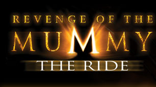 Revenge of the Mummy Enclosed roller coasters at Universal theme parks
