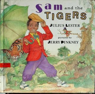 <i>Sam and the Tigers: A New Telling of Little Black Sambo</i> book by Julius Lester