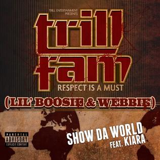 Lil Boosie and Webbie featuring Kiara — Show da World (studio acapella)