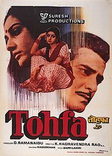 <i>Tohfa</i> 1984 Indian film
