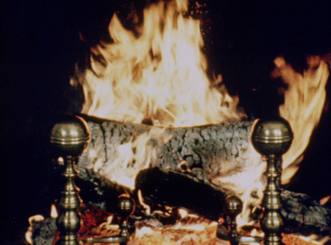 The original version of The Yule Log, filmed in 1966. In 1970, due to deterioration on the film, this version had been replaced with the modern Yule Log, and the source film of the original was thought to be lost until it was discovered in July 2016. 1966 PIX Yule Log.png