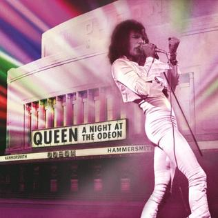 <i>A Night at the Odeon – Hammersmith 1975</i> 2015 live album by Queen
