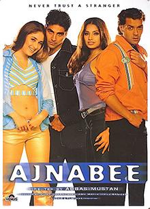 <i>Ajnabee</i> (2001 film) 2001 film by Abbas-Mustan