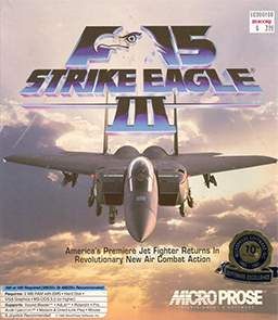 <i>F-15 Strike Eagle III</i> 1992 video game