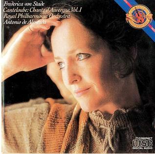 <i>Chants dAuvergne, Vol. 1</i> 1982 studio album by Frederica von Stade