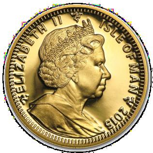 Angel (Manx coin) Coin
