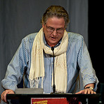 Reading from a work in progress at the Vancouver International Writer's Festival 2010