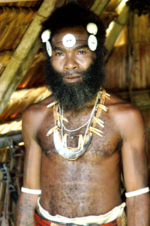 A Malaitan Chief. Malaitan Chief.jpg