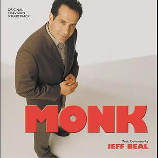 <i>Monk</i> (soundtrack) 2004 soundtrack album by Jeff Beal